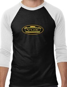 Gold Vox Amp Men's Baseball ¾ T-Shirt