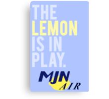 The Travelling Lemon Canvas Print