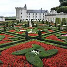 Chateau Villandry Gardens by Karen E Camilleri