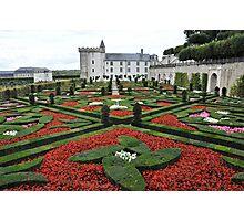 Chateau Villandry Gardens Photographic Print