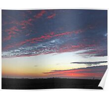 Cotton Candy Clouds Poster