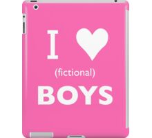 I love (fictional) boys iPad Case/Skin