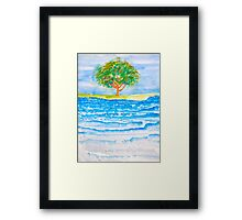 Dappling Water on Northlake Framed Print