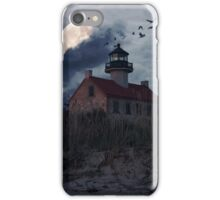 Moonlight At East Point iPhone Case/Skin