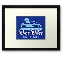 Walt White Framed Print