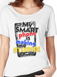 Smartphone Women's Relaxed Fit T-Shirt