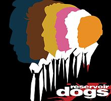 The Dogs- Reservoir Dogs by LetsMakeArtwork