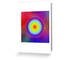 Chakra Colors 37-B Greeting Card