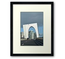 Melbourne Freeway Framed Print