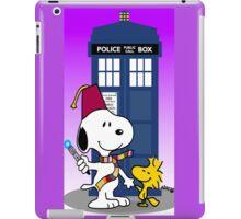 Snoopy doctorwho christmas iPad Case/Skin