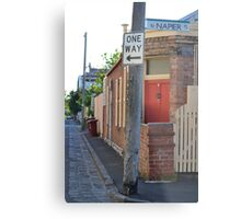 South Melbourne Streetscape Metal Print