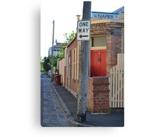 South Melbourne Streetscape Canvas Print