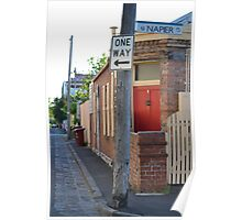 South Melbourne Streetscape Poster