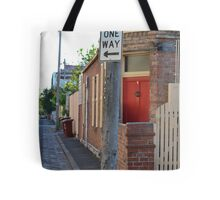 South Melbourne Streetscape Tote Bag