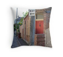 South Melbourne Streetscape Throw Pillow