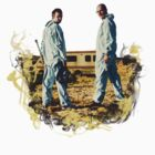 Walter And Jesse Smokey - Breaking Bad by Kiwicrash