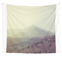 Mountains in the background III Wall Tapestry