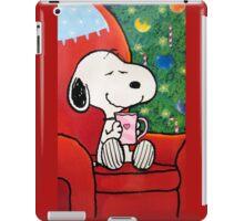 Snoopy happy christmas iPad Case/Skin