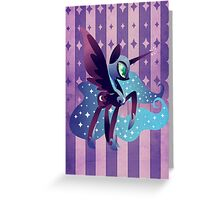 Nightmare of the Moon. Greeting Card
