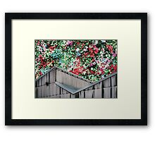 Party On The Roof Framed Print