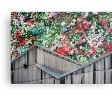 Party On The Roof Metal Print