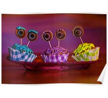monster inc cupcakes Poster