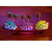 monster inc cupcakes Photographic Print