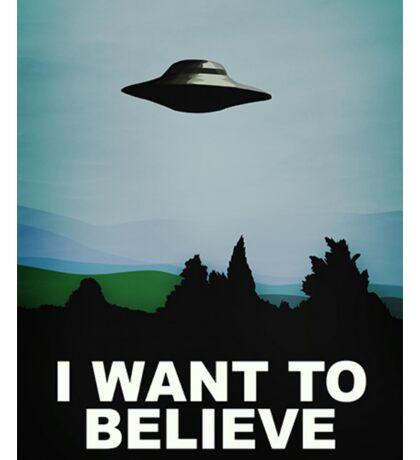 I Want To believe Sticker