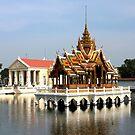 Reflection at Bang Pa-in Palace by Laurel Talabere