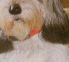 Rascal-Petite Bassett Griffon Vendeen Sticker