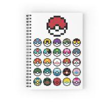 Poké Ball Spiral Notebook