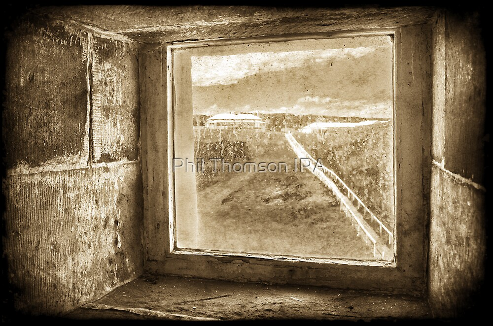 """""""Looking Back To The Residences"""" by Phil Thomson IPA"""