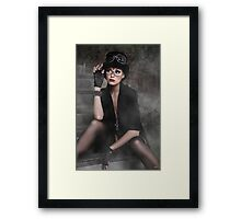 Steampunk Maiden Framed Print