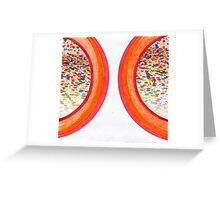 Technicolor Mirror Greeting Card