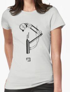Mechanical Steampunk Interrobang Womens Fitted T-Shirt