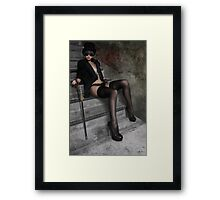 Steampunk Maiden 2 Framed Print