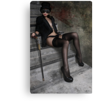 Steampunk Maiden 2 Canvas Print