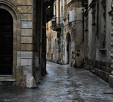 Streetscape in Baroque by Alessandro Pinto