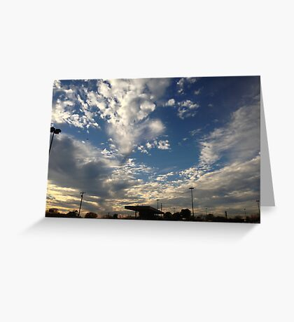 Blue Skies Greeting Card