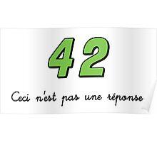 42 n'est pas une réponse (DARK) Poster