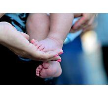 little feet of children Photographic Print