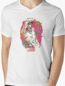 JoJo's Bizarre Adventure - Rohan Mens V-Neck T-Shirt