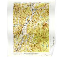 USGS TOPO Map New Hampshire NH Mt Cube 330221 1933 62500 Poster