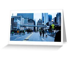 St. Patrick's Day in Chicago Greeting Card