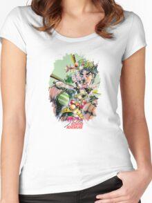 JoJo's Bizarre Adventure - Joseph Joestar Women's Fitted Scoop T-Shirt