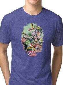 JoJo's Bizarre Adventure - Joseph Joestar Tri-blend T-Shirt