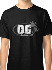 OG Mini Truckin' Coalition White Text Classic T-Shirt