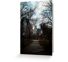 City Parks Greeting Card