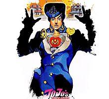 JoJo's Bizarre Adventure - Josuke by Onimihawk