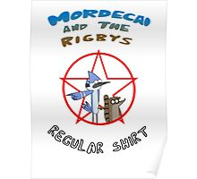 the regular show mordecai and the rigbys Poster